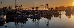 Harbor Stillness (matt_co) Tags: oregon newport fishing boats yaquina bridge bay olympus micro 43 dusk coast