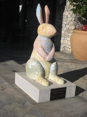 Stone Rabbit. (goldiesguy) Tags: goldiesguy animals statue statues sculpture sculptures outdoors