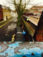 Baker Street (sjpowermac) Tags: bakerstreet sherlockholmes marylebone london 1970s autobiographical class68 locomotive 68009 chilternrailways silverset bostonplace jerryrafferty mainline 221b titan cat