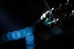 In a row (simonpe86) Tags: makro bokeh blue pearl macro bracelet reflection redux2016myfavoritethemeoftheyear macromondays black chain lightstreak inarow detail