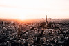 Paris (Tim RT) Tags: tim rt paris france eifel tower cityscape city life travel sunset orange sky holiday new picture flickr nikon d810 nikkor 24120mm natural light outdoor beautiful