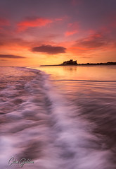 Rippling Light 2 (Calum Gladstone) Tags: northumberland bamburgh castle seascape sunrise movement leefilters canon6d