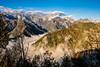 colori caldi, vento gelido (anarcnide) Tags: barcis nuvole montagne mountain friul friuli monte lupo clouds landscape sky