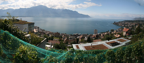 2013 09 13 Montreux Genfer See Panorama1