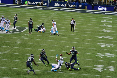 2016 Seahawks vs Panthers