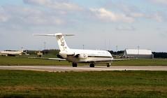 Navy C9 (calzer) Tags: c9 navy usn jet transport raf kinloss runway