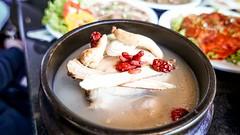 ซุปไก่ตุ๋นโสม เมนูอร่อยให้พลังงานสไตล์เกาหลี จากร้านดูเร DooRae Korean Restaurant
