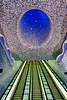 Napoli, Metro Station Toledo (gerard eder) Tags: architecture architektur arquitectura metro metrostation subway tube subwaystation metrostationtoledo italien italy italia campania napoli naples neapel reise travel world viajes europa europe art metroart óscartusquetsblanca