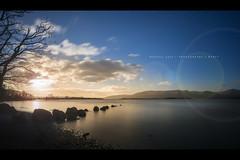 Milarrochy Bay, Loch Lomond, Scotland (RusseII Lees) Tags: milarrochybay lochlomond longexposure sunset