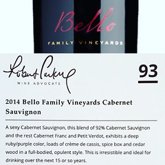 #bellofamilyvineyards #cabernetsauvignon #rutherford #napavalley #robertparker (Bello Family Vineyards) Tags: bellofamilyvineyards cabernetsauvignon rutherford napavalley robertparker
