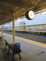 Lancaster Train Station 2017 PA 0542 (Brechtbug) Tags: lancaster train station january 22nd 2017 pa pennsylvania trains bus facade penna holiday with clock transportation architecture building railroad buses profile amtrak 01222017 commuting art waiting room platform tracks