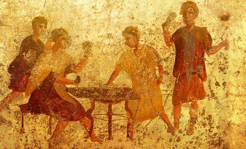 "Petteia - Ludus Latrunculorum  / Iconografía de las civilizaciones helenolatinas • <a style=""font-size:0.8em;"" href=""http://www.flickr.com/photos/30735181@N00/32143093210/"" target=""_blank"">View on Flickr</a>"