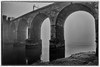 Runcorn Bridge in the Mist (3 of 4) (andyyoung37) Tags: railwaybridge runcornbridge uk widnes cheshire fog rivermersey