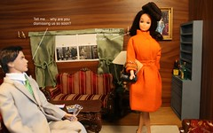 Inside The Valley of the Dolls Part 4 (barbiescanner) Tags: film cultfilm classicfilms 60s 60sfashion 60sfilms valleyofthedolls barbie vintagebarbie barbiefashion ken kenfashion dioramas miniatures satire
