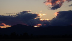 Lake Champlain Valley Sunset - IMGP6283 (catchesthelight) Tags: addisoncounty nearlakechamplain sunset overfarmland sky vistas endofday farewelltovt vermont tothewest