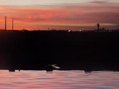 Sunset (just me julie) Tags: tempetownlake tempe arizona az sunset sky