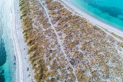 Follow the Path (James A Collins) Tags: aerialphotography woodmanpoint westernaustralia beach dji drone djiphantom4pro coogee australia au