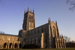Golden Hour Bryn Athyn Cathedral