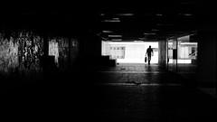 Untitled (R▲F▲VT) Tags: urbanvisions urban urbanlandscape urbancompo humaningeometry human humanfactor silhouettes darkness streetphoto