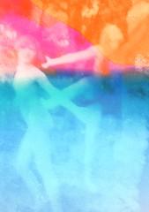 DAVID MARINOS - Aura (DAVID MARINOS) Tags: davidmarinos david apollo marinos 19 art phtography digital contemporary power boy girl love neon color hue black white blackandwhite gray red blue net fashion scan collage gallery studio fresh minimal simple boho gigure anatomy eyes boys girls face body hand canvas projection glitchart pallette colors crazy scream emotion animal nature emotions 3d visual modern paper screen fire ocean skull