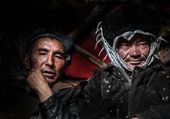 Afghanistan, Pamir, kyrgyz men (silvia.alessi) Tags: travel afghanistan portrait ngc people kyrgyz adventure mountain pamir lonelyplanet