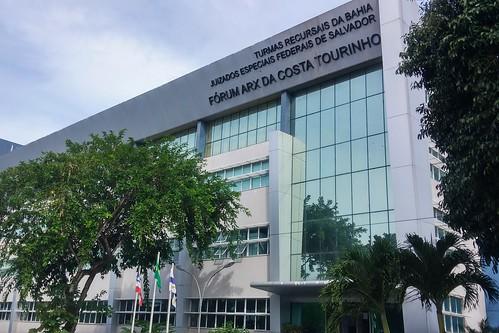 Fórum Arx Tourinho - JEF da Seção Judiciária da Bahia (Justiça Federal)