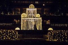 CW334 Longwood Gardens Christmas Lights (listentoreason) Tags: usa night america canon unitedstates pennsylvania scenic favorites places longwoodgardens ef28135mmf3556isusm holidaylighting score30