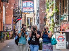 Shooters, in Nashville :) (paulagoff) Tags: alley nashville tara tennessee lisa marybeth printersalley