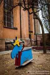 Playground Moose In Stockholm, Sweden