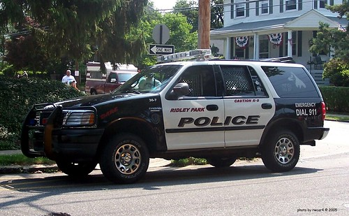Ridley Park PA Police - Ford Expedition - K-9 unit (2)