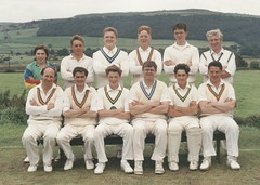 "Steeton 2nd XI 1991 • <a style=""font-size:0.8em;"" href=""http://www.flickr.com/photos/47246869@N03/19742835622/"" target=""_blank"">View on Flickr</a>"
