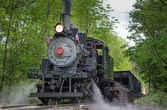 Stopping for Water (jterry618) Tags: unitedstates westvirginia durbin durbinrocket mkc3 durbingreenbriervalley climaxmanufacturingcompany railfanweekend2015 moorekeppellcompany