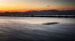 Humedales protegidos - Protected wetlands (jmpastorg) Tags: vividstriking españa alicante salina santapola spain diciembre otoño autumm lake lago landscape laguna paisaje waterscape largaexposición longeexposure led 1750 2016 nikon