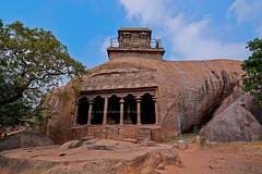 "Mahishasuramardini Rock Cut Cave Temple-Mahabalipuram-Tamilnadu. (Kalai ""N"" Koyil) Tags: nikon d 5200 2014 18140mm mahabalipuram mamallai mahishasuramardini rockcut cavetemple pallava olakanesvaratemple top tamilnadu southindiantemple architecture asi unescoheritage ntnc47 national importance"
