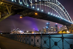 The perfect frame (Jared Beaney) Tags: sydney sydneycity nightphotography canon6d tamronf282470 tamronsp2470mmf28 tamron canon milsons point sydneyharbourbridge