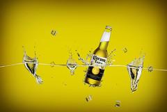 corona beer (rami yazagi photography) Tags: creativephotography photography product products productphotography tabletop tabletopphotography beer splash advertising advertisingphotography commercial drink coronabeer studio indoor