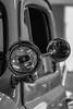 51 spotting (Shutter Photography & Hot Rod Images) Tags: spotlight truck automobile ford 1951 f2 canon50d bedfordva chrome light detail closeup bw blackandwhite monochrome mono