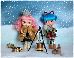 Soupe d'hiver (Heike Andrea Grote ♥️) Tags: heikeandreagrote blythe ネオブライス 人形 カスタムブライス licca basaak blythedoll blythestagram blythephotgraphy blythecustom instadolls dollphotography monchhichi japan doll cute kawaii pictureoftheday photooftheday bestoftheday picoftheday happynewyear snowangel winterwonderland souped'hiver outdoor