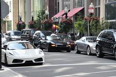 Ferrari 430, BMW Z8, McLaren SLR (OleksandrPhoto) Tags: mercedes car ferrari f430 mclaren slr bmw z8 chicago