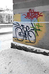 Winter street photo (alex_goss) Tags: saintpetersurg stpetersburg street graffity winter