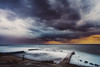 Thunderstorm (Alex Apostolopoulos) Tags: longexposure sunset thunderstorm clouds downfall seascape skyscape storm sky dramatic cyprus sony sonya6000 ilce6000 samyang samyang12mmf20ncscs haidand1000 manfrottobefree