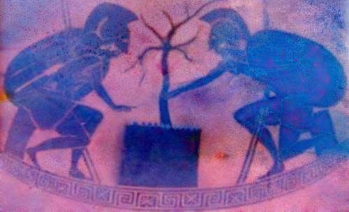 "Petteia - Ludus Latrunculorum  / Iconografía de las civilizaciones helenolatinas • <a style=""font-size:0.8em;"" href=""http://www.flickr.com/photos/30735181@N00/32143100290/"" target=""_blank"">View on Flickr</a>"