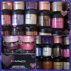 Ich liebe meine M'A'C Pigmente 💖😊 #blogger #bloggerlife #blogger beaut##blogger beautbeauty #mac #pigment #pigments #pigmente #resin #eyeshadow #love #happy (biancawirmannbakker) Tags: blogger beaut beauty bloggerlife mac pigment pigments pigmente resin eyeshadow love happy