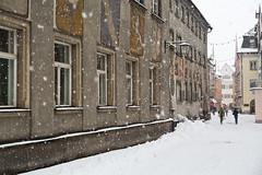 Schneefall Feldkirch (hilarius.at) Tags: feldkirch rathaus schneefall vorarlberg österreich schmiedgasse