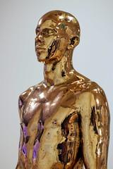 The Golden Man (T3MPL3) Tags: ryan gander night museum birmingham art gallery canon 70d 50mm indoor interior exhibition city uk england bham