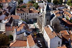 Eglise Saint Germain vue du ciel (Fontenay-sous-Bois Officiel FRANCE) Tags: fontenay fontenaysousbois regionparisienne valdemarne iledefrance 94 94120 paris france eglise church toits roof fsb