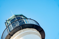Old Point Loma Lighthouse, San Diego (Nannie Natcha) Tags: california architecturephotography photography architecture landscapephotography landscape cityscapephotography cityscape oldpointlomalighthouse lighthouse sandiego pointloma blue sky usa america