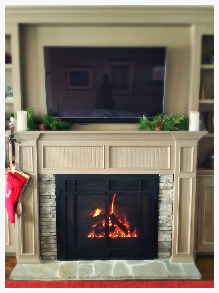 Mendota DXV-45 DirectVent Fireplace. Chattanooga, Tn.