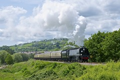 Wells on Chicken Curve (davidcable347) Tags: wells sr westcountry wadebridge 462 bulleid 34007 34092 gwsr chickencurve 30742charters
