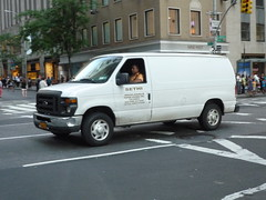 road street new york city nyc urban usa white ford apple america island town big state metro manhattan united north midtown company domestic commercial transit area delivery vehicle metropolis motor states van avenue northeast contractor mid metropolitan distribution vn econoline eseries nonimport